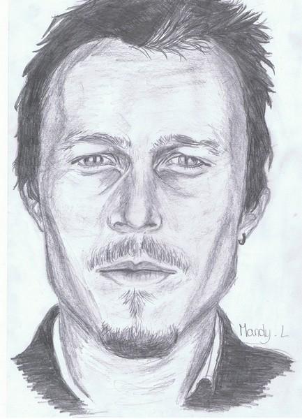 Heath Ledger par MandyLair